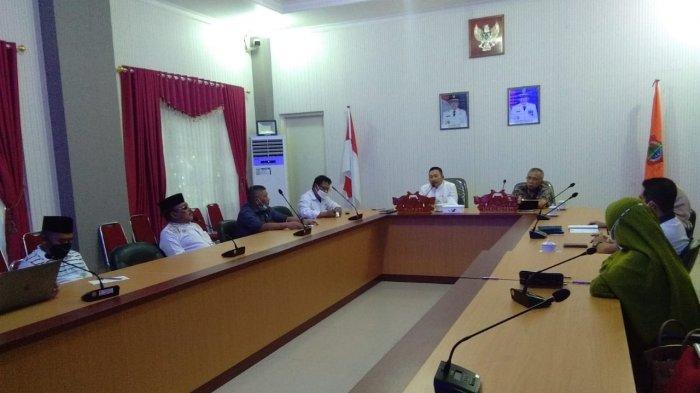 Bupati dan Wakil Bupati Banggai Gelar Rapat Koordinasi dengan Pimpinan DPRD, Ini Tujuannya