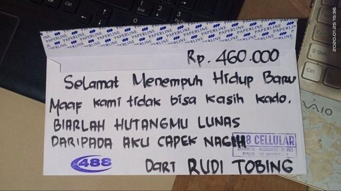Kesal Utang tak Kunjung Dibayar, Pria di Manado Sumbang Amplop Kosong di Nikahan Teman