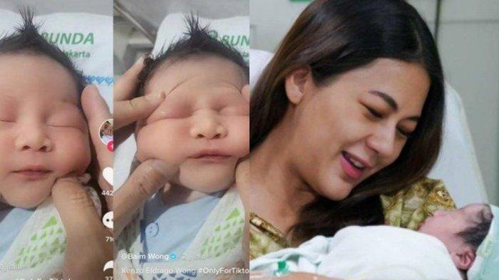 Anak Kedua Baim Wong Baru Lahir Sudah Jadi Konten, Netizen Iba Lihat Wajah Bayi Dipencet-pencet