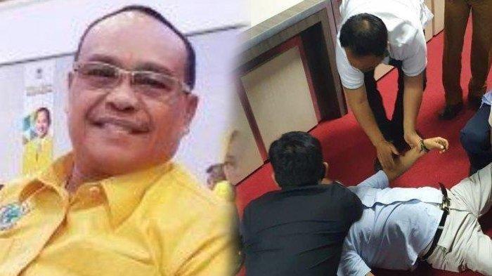 Kronologi Lengkap Anggota DPRD Sulsel Meninggal Mendadak, Sempat Terekam Kamera saat Jatuh Pingsan