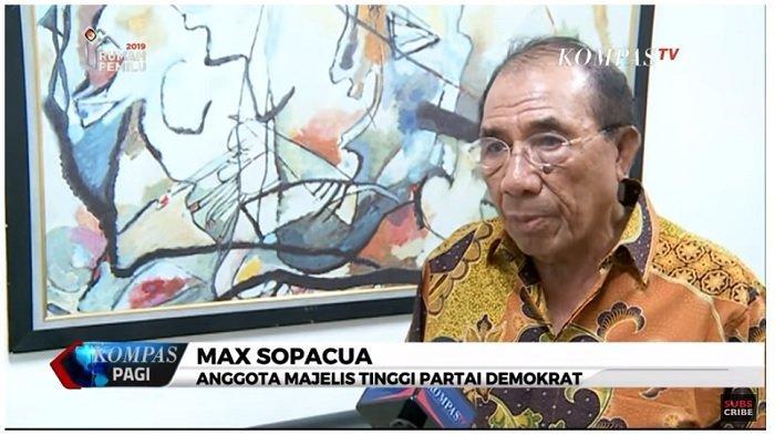 KLB Partai Demokrat Ilegal, Max Sopacua: Pesta Sunatan Saja Ada Izinnya, Apalagi Kongres