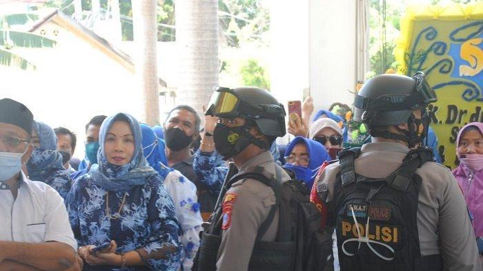 Polres Palu Kirim 100 Personel Amankan Pelantikan Kepala Daerah Morut dan Touna