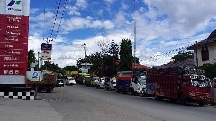 Timbun BBM, Pertamina Stop Penyaluran Solar di SPBU Jl Kartini 2 Pekan