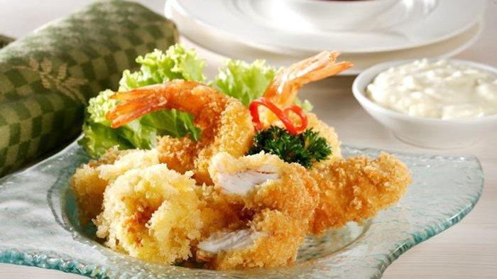 Resep membuat assorted seafood goreng.