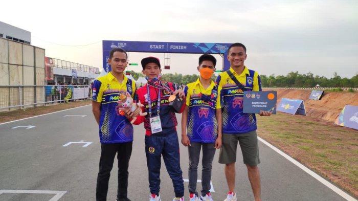 Atlet Balap Carlos Demelos Sumbang Medali Perunggu PON Papua untuk Sulteng