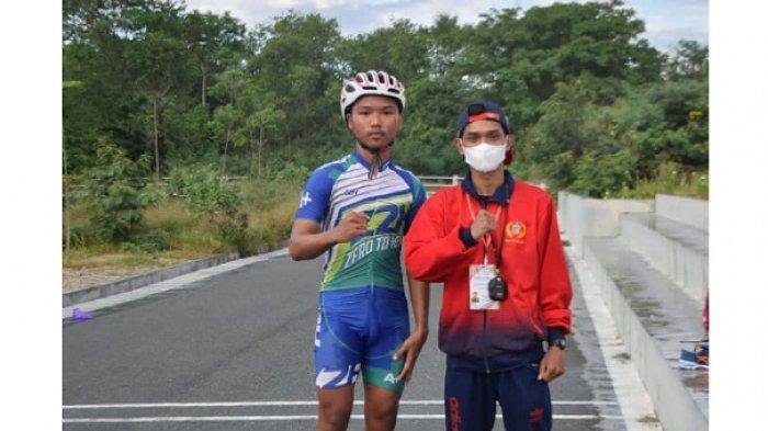 Moh Sadam Jadi Atlet Cabor Sepatu Roda Sulteng di PON Papua Bercita-cita jadi Polisi