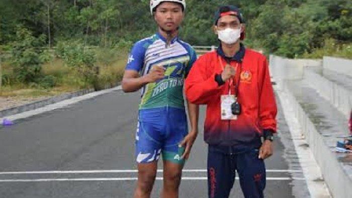Sulteng Hanya Utus Satu Atlet Sepatu Roda, Pelatih: Berikan yang Terbaik untuk Daerah