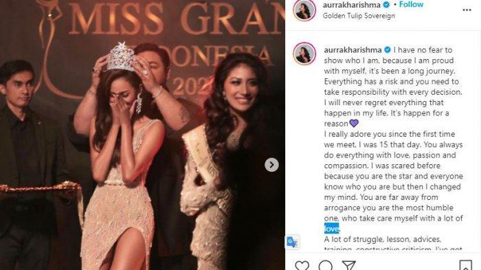 Aurra Kharisma Ungkap di Balik Panggung Miss Grand International 2020, Pendengaran Sempat Terganggu?
