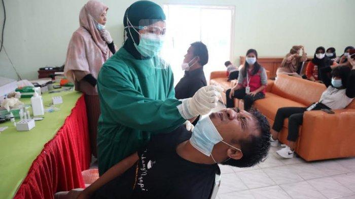 58 Pegawai Balai Disabilitas Nipotowe Palu Jalani Rapid Antigen