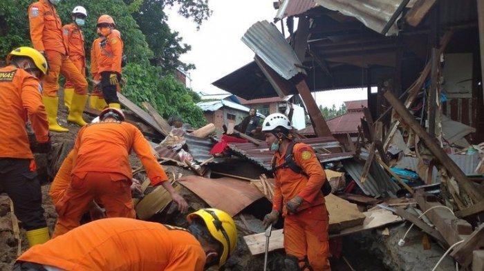 Banjir dan Longsor di Kota Manado Sabtu Sore, 5 Orang Tewas, Ratusan Lainnya Mengungsi