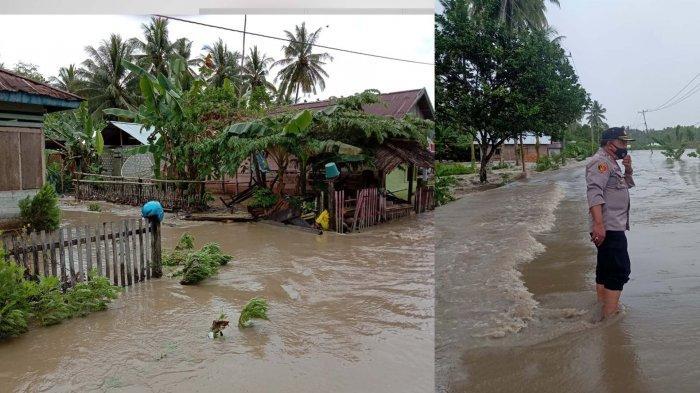 BREAKING NEWS: Banjir Rendam Tiga Desa di Luwuk Timur Sulteng
