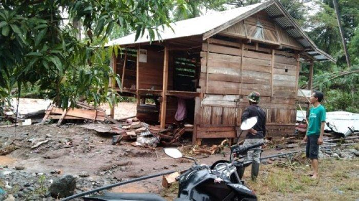 Rumah Hanyut, Pemerintah akan Relokasi 8 KK Korban Banjir di Tojo Una-una Sulteng