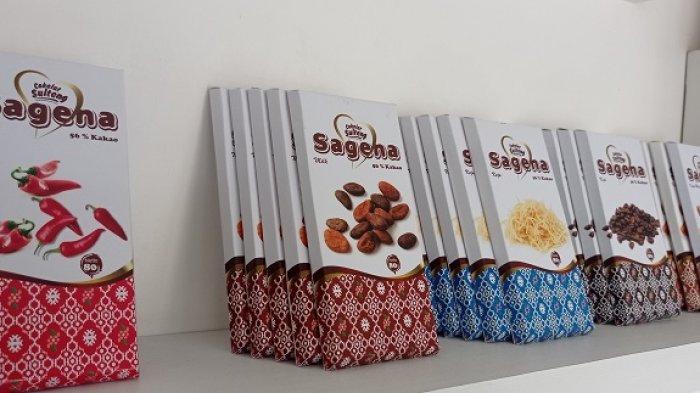 Aneka rasa cokelat yang dijual Banua Cokelat di Kota Palu
