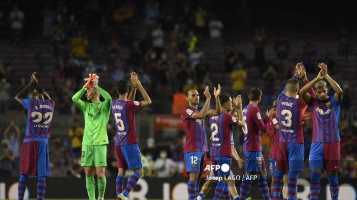 Hasil Liga Spanyol - Main Pertama Kali Tanpa Messi, Barcelona Menang Besar 4-2 Lawan Real Sociedad
