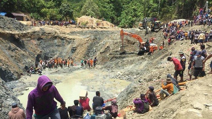 Tiga Petambang Belum Ditemukan, Tim SAR Buka Posko Korban Hilang di Tambang Emas Desa Buranga