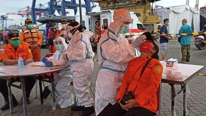 Basarnas Tes Rapid Antigen untuk Semua Personel SAR yang Terlibat Evakuasi Sriwijaya Air SJ-182