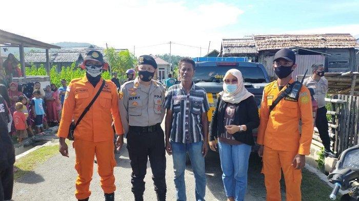Sempat hilang dua hari, nelayan asal Kabupaten Buol ditemukan selamat di Binontoan Timur, Kelurahan Binontoan, Kabupaten Tolitoli, Sulawesi Tengah, Sabtu (6/3/2021).