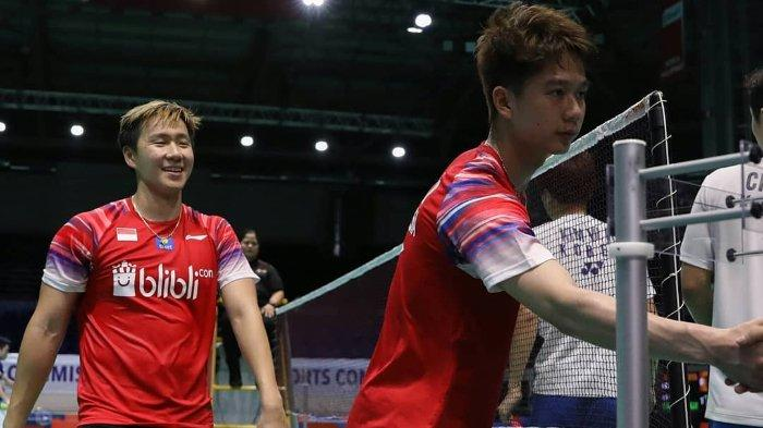 Update Final Badminton Asia Team Championships 2020 Dramatis, Marcus/Kevin Bawa Indonesia Unggul 2-0