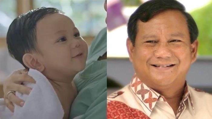 Viral Bayi yang Disebut Mirip dengan Prabowo Subianto dan Muncul di Iklan Minyak Telon, Siapa Dia?