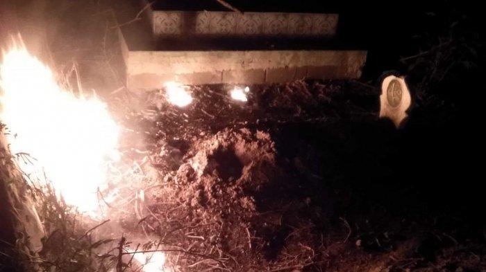 Perusakan dan Pembakaran Makam di Kelurahan Nunu, Kota Palu Resahkan Warga