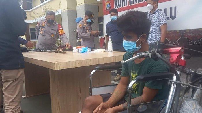 Serang Mahasiswa Pakai Anak Panah, Pelaku Dibekuk di Huntara Talise Palu