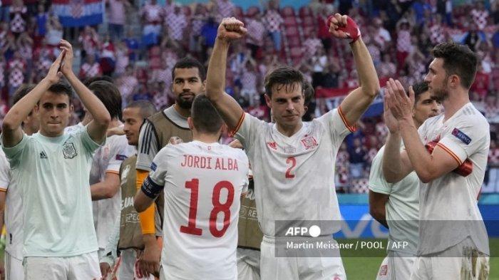 Preview Spanyol vs Swiss Babak 8 Besar Euro 2020, Strategi Pergantian Enrique Bak Pedang Bermata Dua