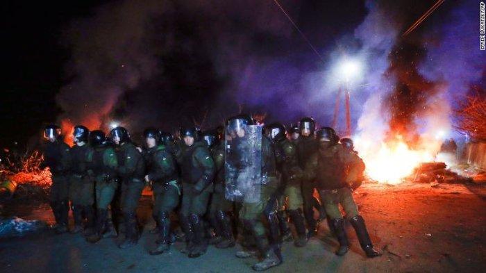 9 Polisi dan 1 Warga Terluka Setelah Bus yang Membawa Pengungsi dari Wuhan Diserang di Ukraina