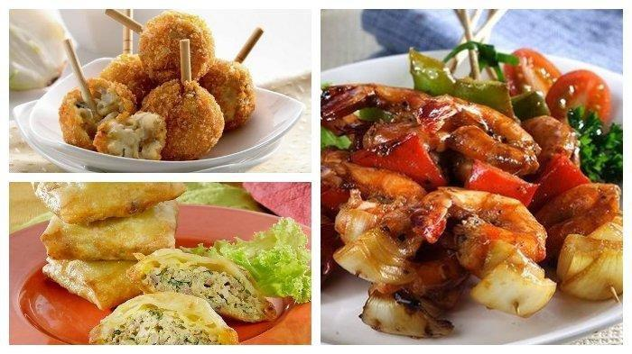 Resep Makanan Cocok di Akhir Pekan: Kaki Naga Makaroni, Martabak Telur Tahu, Udang Panggang Paprika