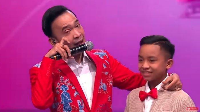 Betrand Peto dan Ruben Onsu saat di KDI MNCTV