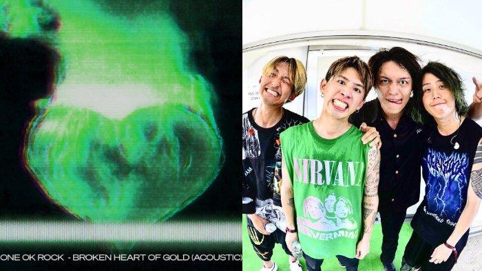 ONE OK ROCK Rilis Broken Heart of Gold versi Akustik, Jadi Persiapan Konser 'Day to Night Acoustic'?