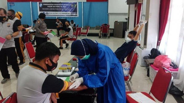 Selain Rapid Test, Kesehatan Jiwa Polisi di Sulteng Juga Diperiksa