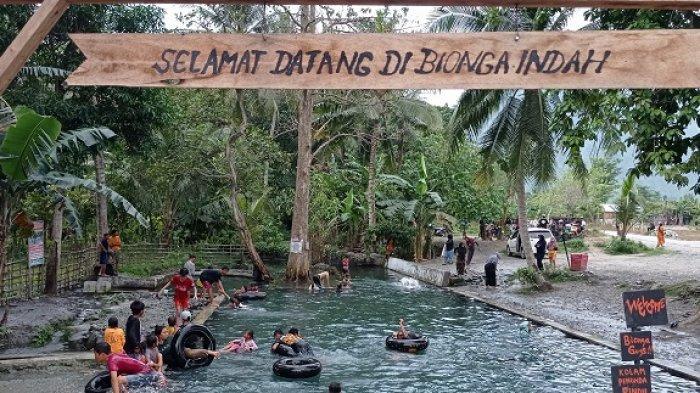 Wisata alam Bionga Indah berlokasi di Desa Kaleke, Kabupaten Sigi, Sulawesi Tengah.