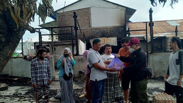 BMC Peduli Salurkan Bantuan Sembako untuk Korban Kebakaran di Jl Sungai Manonda Palu