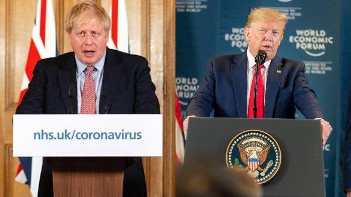 PM Inggris Boris Johnson Diizinkan Keluar dari ICU, Donald Trump: Great News, Lekas Sembuh Boris!