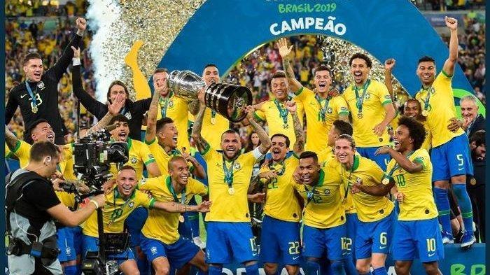 Deretan Fakta Unik Setelah Brasil Tumbangkan Peru di Final Copa America 2019