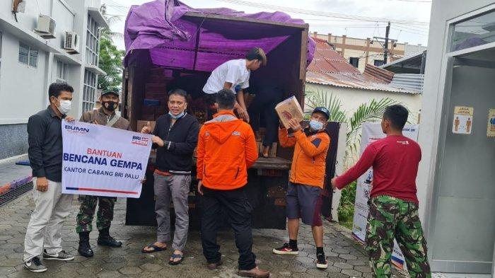 Bantu Korban Bencana, BRI Cabang Palu Kirim Truk Sembako dan Mobil E-Buzz ke Sulbar