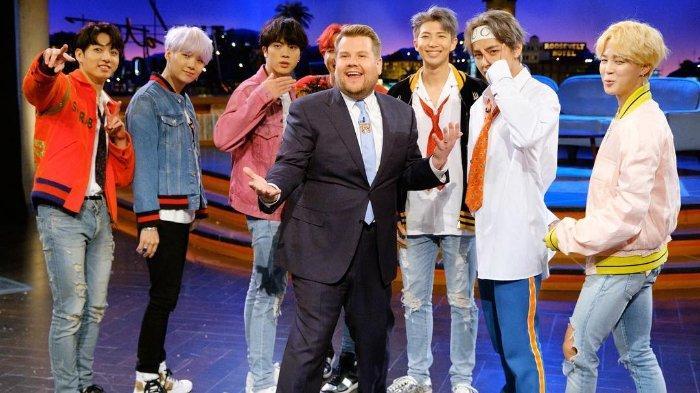 The Late Late Show Bakal Jadi Panggung Pertama BTS Bawakan Lagu 'Black Swan'