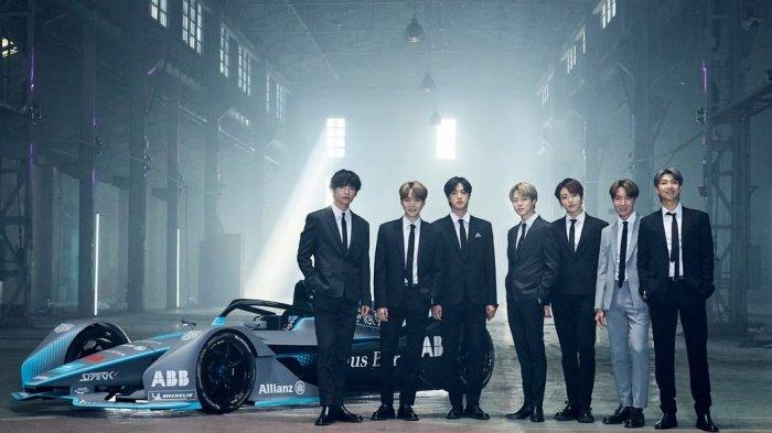Boyband Korea BTS Didapuk sebagai Duta Global Kejuaraan Balap Formula E 2020