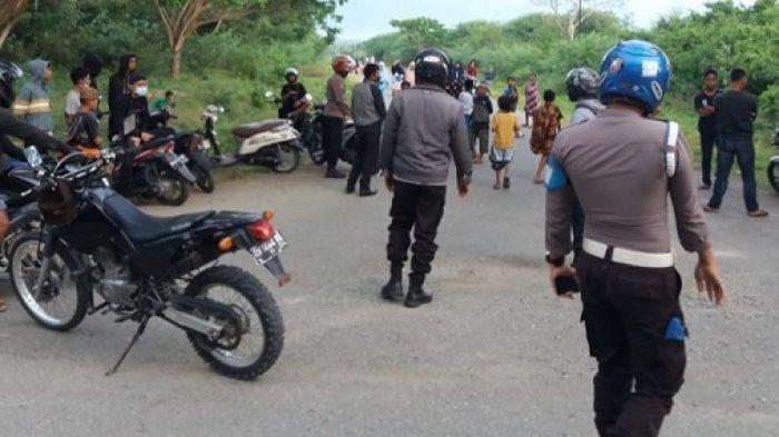 Cegah Balap Liar, Polisi Bubarkan Kerumunan Anak Muda di Sejumlah Lokasi Di Sigi