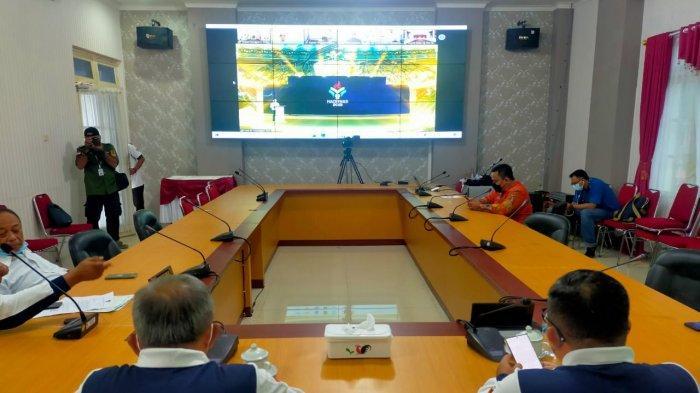 Bupati Banggai Ikuti Peringatan Haronas ke-38 Secara Virtual