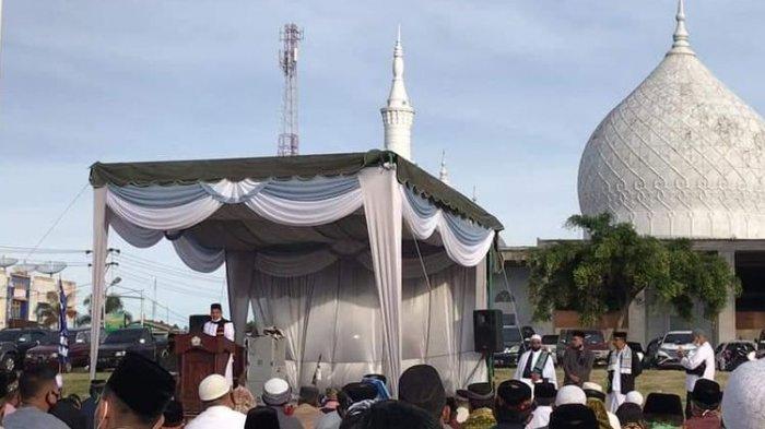 Bupati Bener Meriah Aceh Mengundurkan Diri saat Beri Sambutan di Depan Jamaah Shalat Idul Fitri