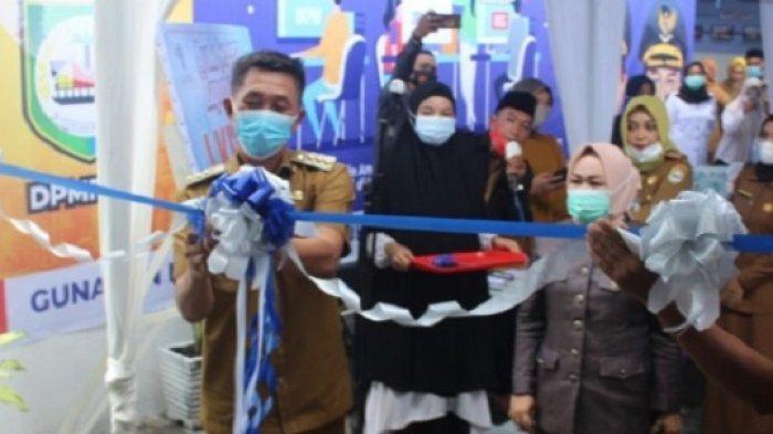 Resmikan Ruang Teknis DPMPTSP, Bupati Morowali: Insya Allah Masyarakat Morowali Sejahtera Bersama