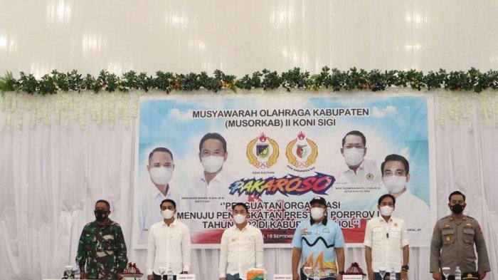 KONI Sigi Gelar Musyawarah Olahraga Kabupaten