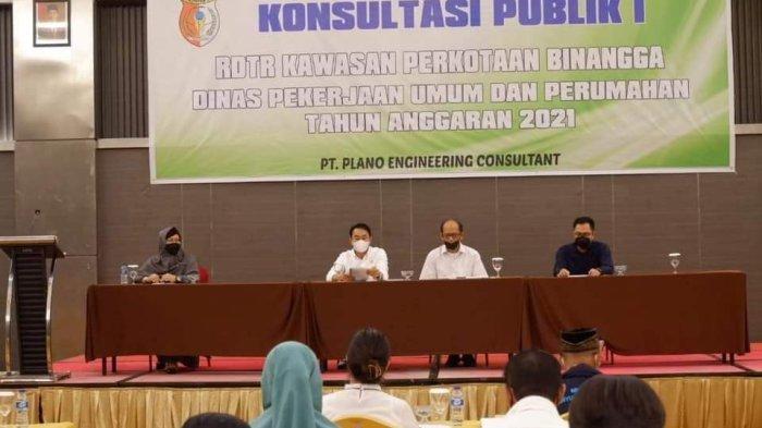 Pemkab Sigi Gelar Konsultasi Publik Penyusunan RDTR Kawasan Perkotaan Binangga