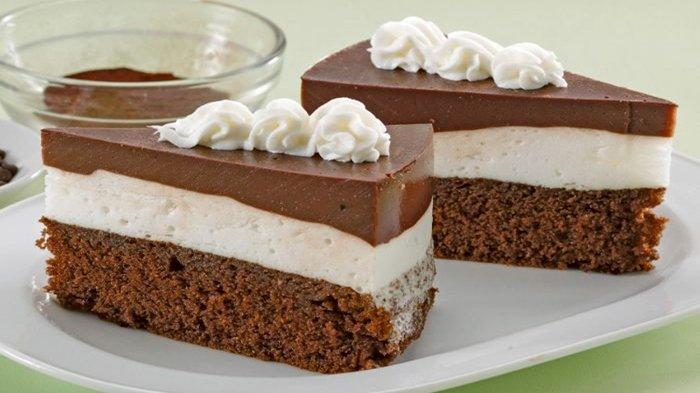 Resep Mudah Menu Buka Puasa Ramadhan 2021: Cake Puding Cokelat Moka