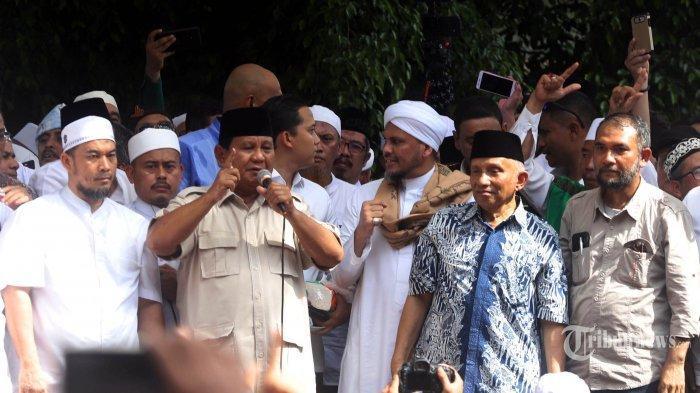 Deretan Tokoh di Koalisi BPN yang Tak Sejalan Dengan Sikap Prabowo Tolak Hasil Pemilu 2019