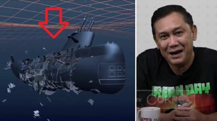 KRI Nanggala-402 Remuk Karena Rudal Prancis, Denny Siregar: Tidak Punya Pengetahuan, Hoaks