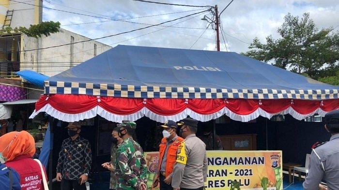 Kapolres Palu Cek Kesiapsiagaan Personel di Pospam dan Posyan Operasi Ketupat Tinombala 2021