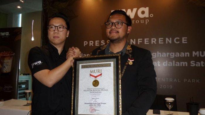 Kopi Janji Jiwa Tutup Tahun 2019 dengan Raihan Rekor MURI