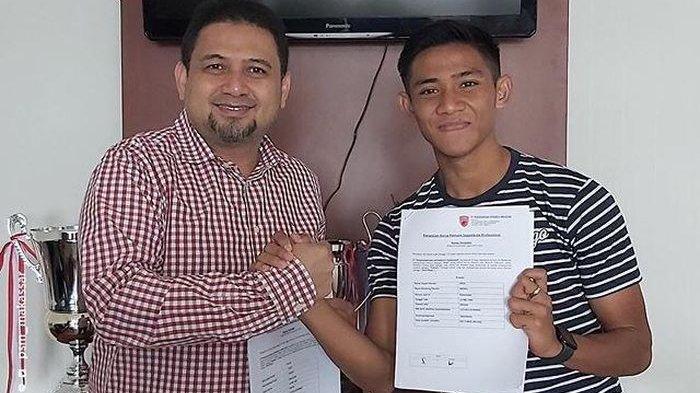 Pemain Timnas U-23 Indonesia, Firza Andika Bergabung ke PSM Makassar